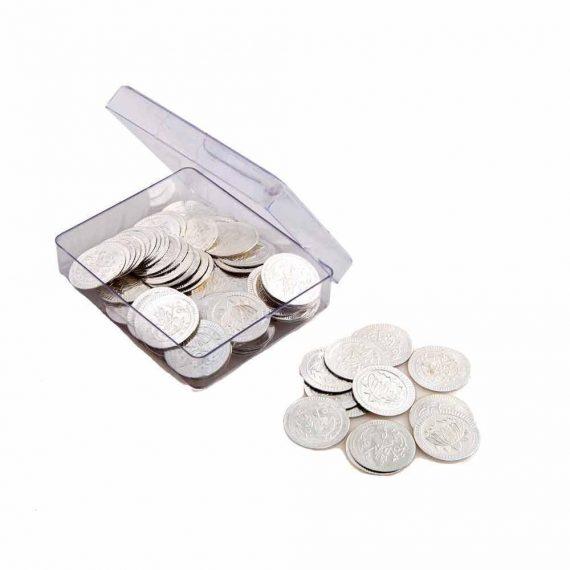 108 pcs of Silver Ashthotram Coins