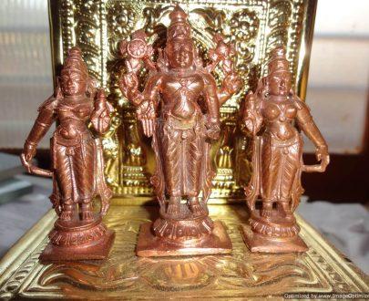 Lord Srinivsa With Boo Devi and Sridevi