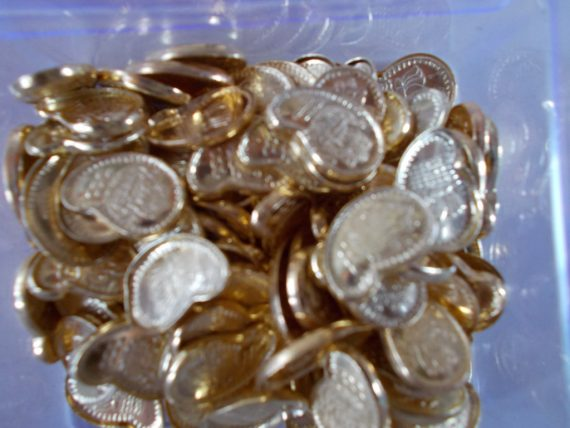 108 Mango Coins for Abhisheka