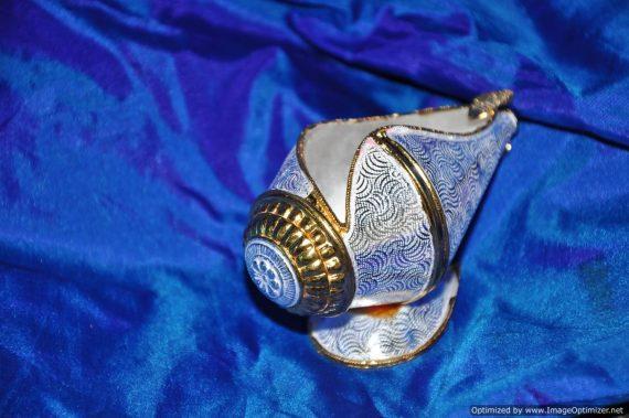 Shankha Deepa - Silver