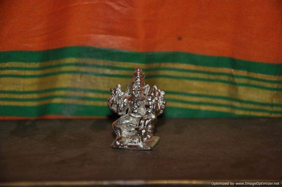 Lakshmi Narasimha Silver - Small