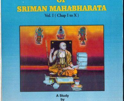 The apodictic purport of Sri Man Mahabharata