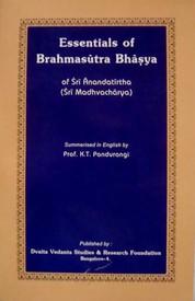 ESSENTIALS OF BRAHMASUTRABHASYA