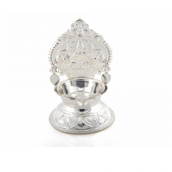 Silver Kamakshi Lamp